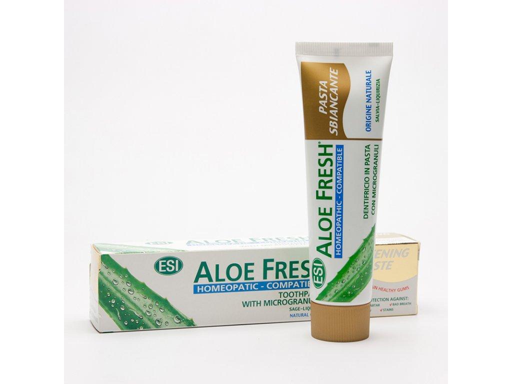 Zubní pasta Aloe HOMEOPATIC, 100 ml