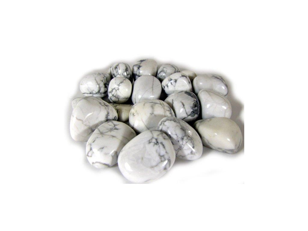 Tromlovaný magnezit bílý