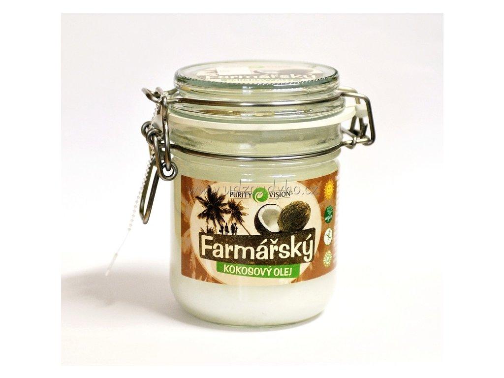 Farmářský kokosový olej, 300 ml