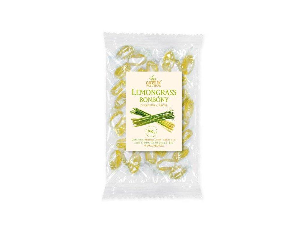 Bylinné bonbóny Lemongrass
