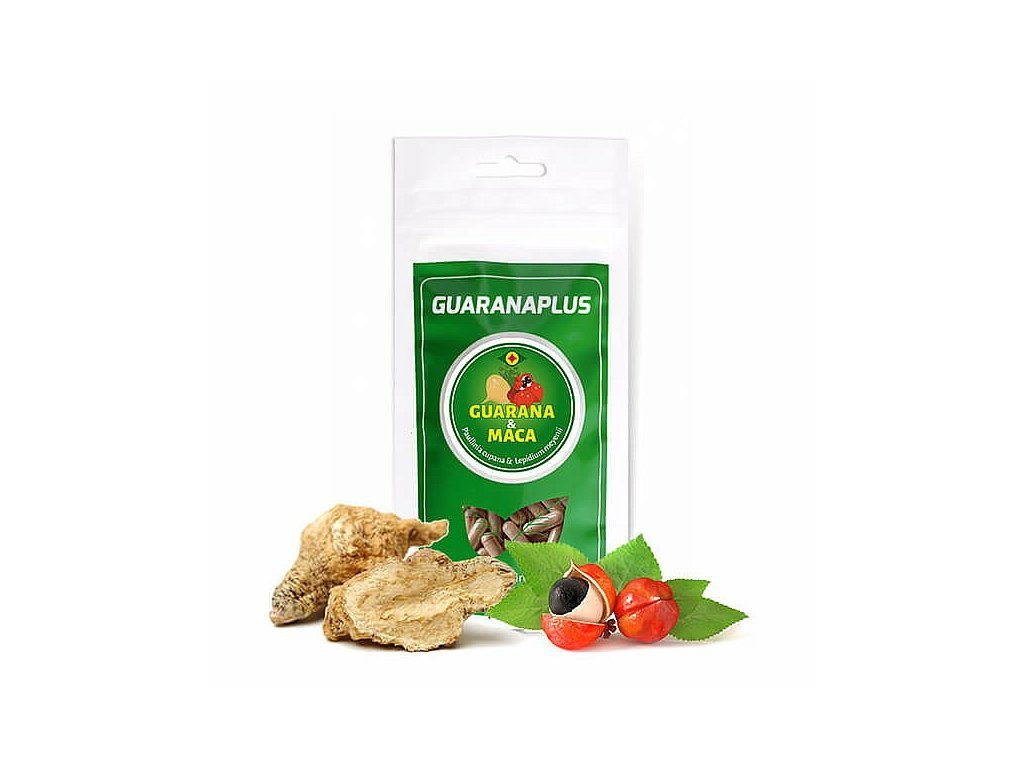Exotic Herbs - Guarana Maca kapsle
