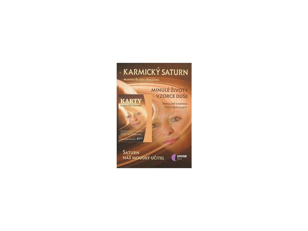 Karmický Saturn+karty