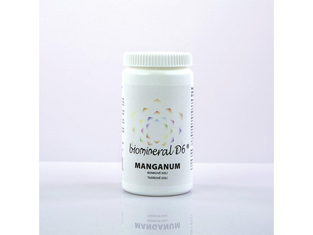 Manganum - tkáňové soli