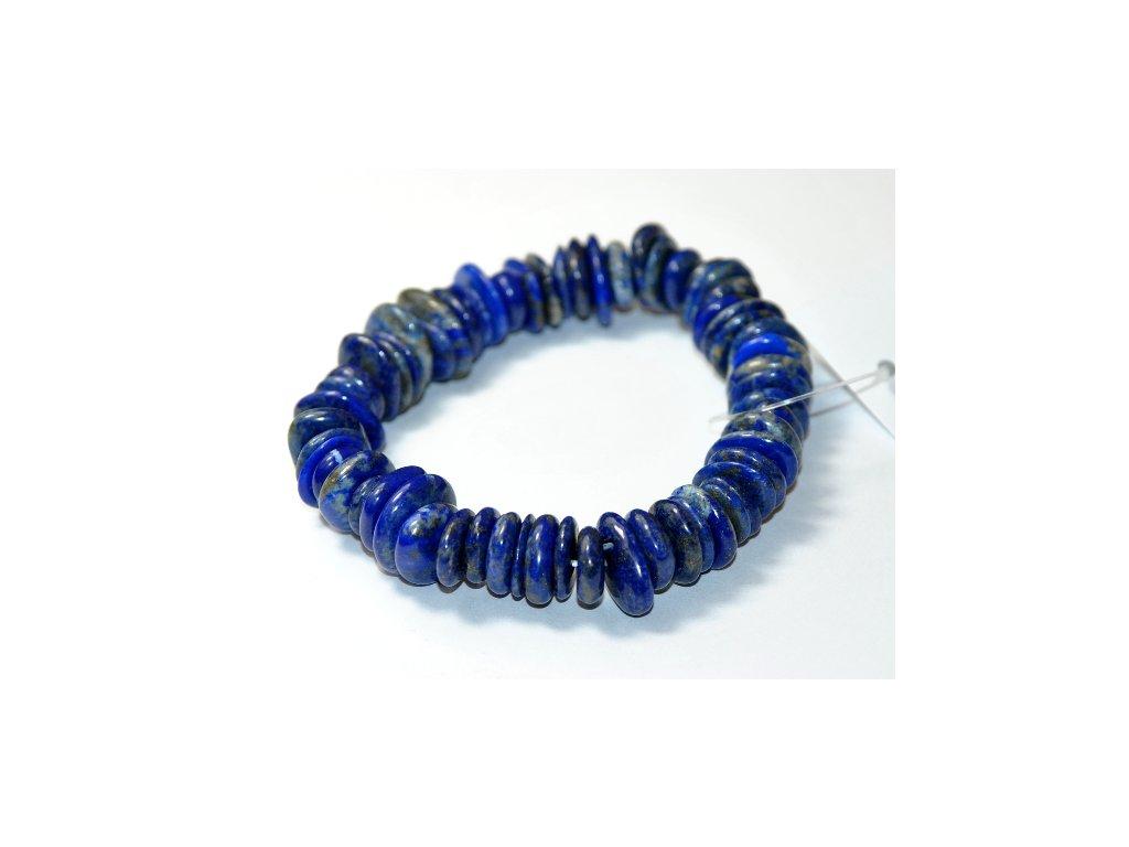 Lapis lazuli - náramek placičky