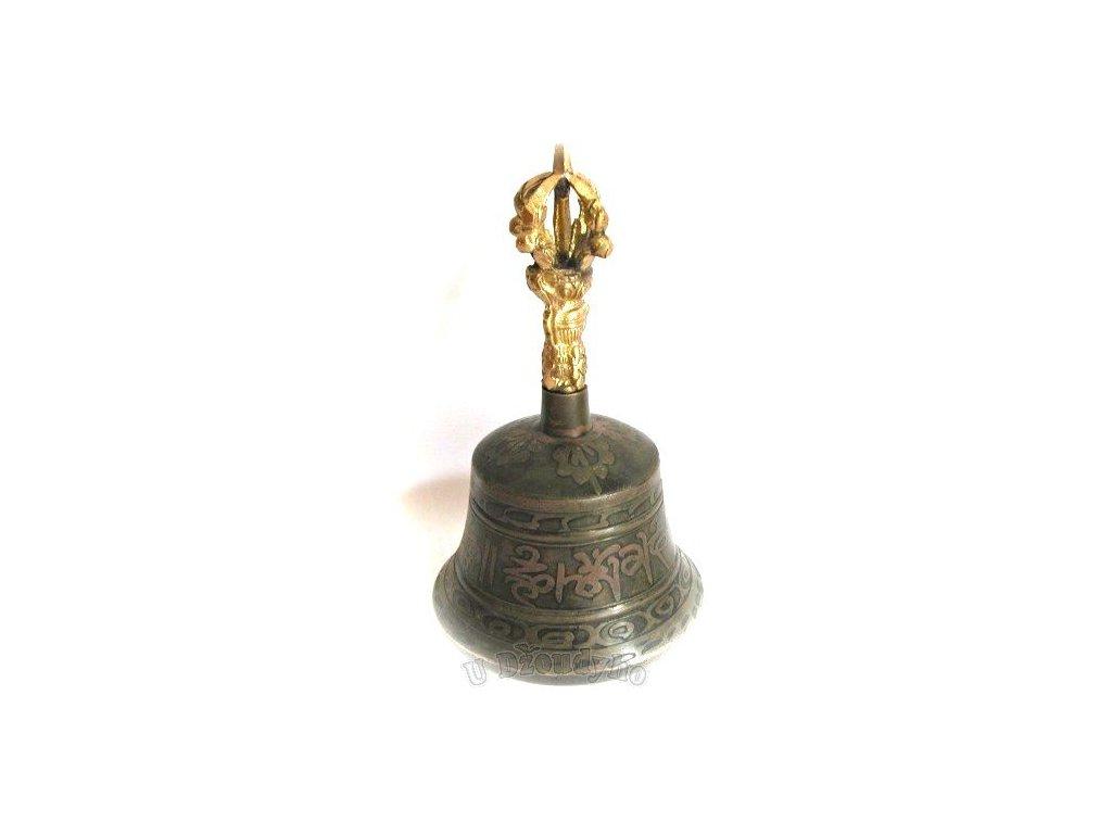 Rituální zvonek (ghanta), Nepál, průměr 7 cm
