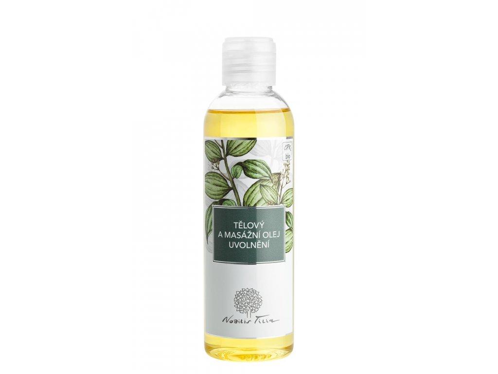Masážní olej Uvolnění