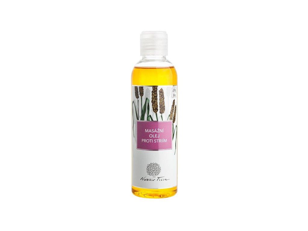 Tělový a masážní olej proti striím