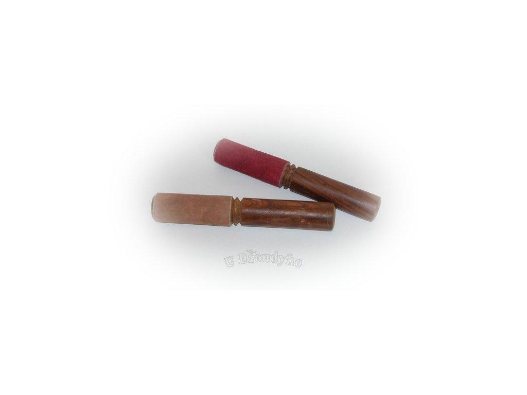 Dřevěná palička (s kůží), malá
