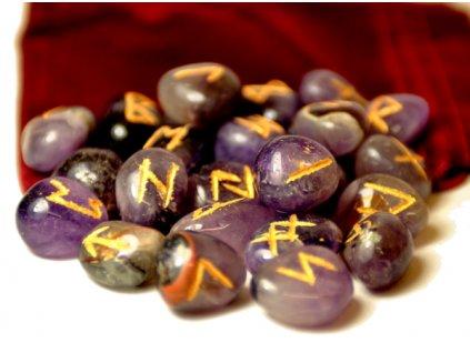 Runy kamenné - ametyst