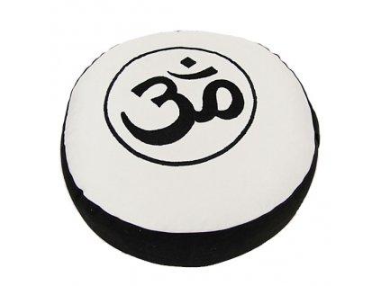 Meditační taburet Om