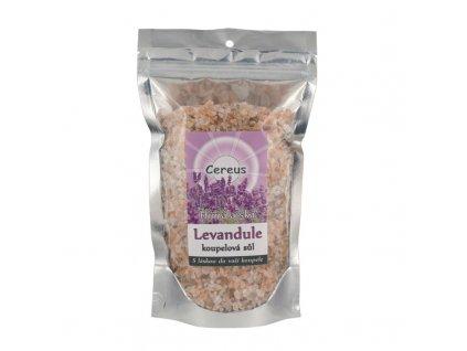 Koupelová sůl Cereus - levandule,  0,5 kg