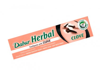 Zubní pasta DABUR s hřebíčkem