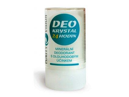 Deo Krystal, přírodní  deodorant  Purity Vision, velký