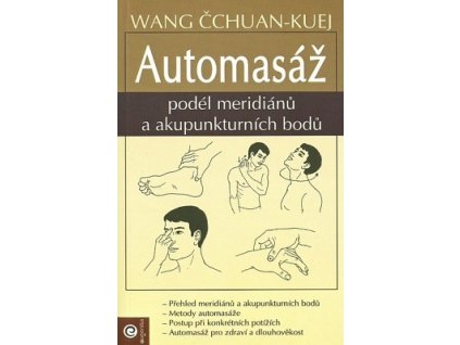 Automasáž podél meridiánů a akupunkturních bodů