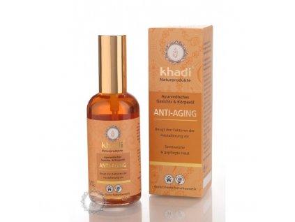 Khadi olej Anti-aging – Proti stárnutí pleti