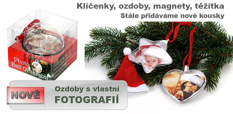 Skvělé dárky s vlastní fotografií