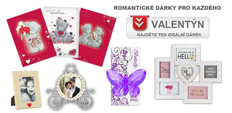 Romantické dárky pro každého