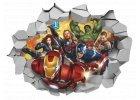 Dětské samolepky na zeď Superhrdinové