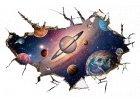 Samolepky ložnice / obývák vesmír
