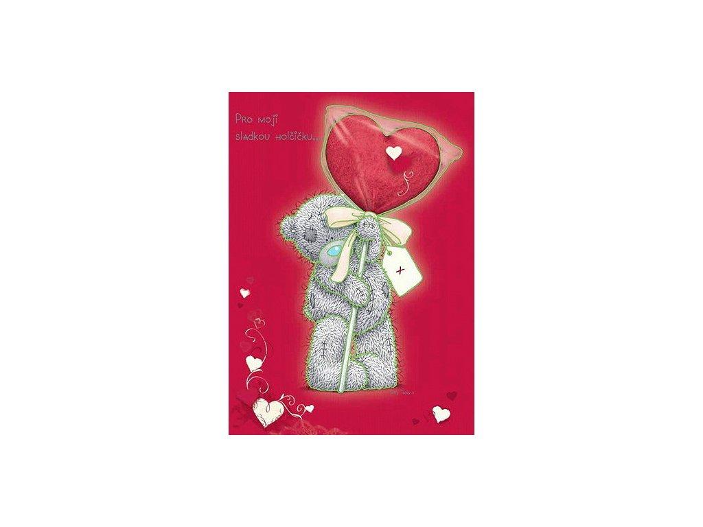 Blahopřání Me to You valentýnské - Pro moji sladkou holčičku...