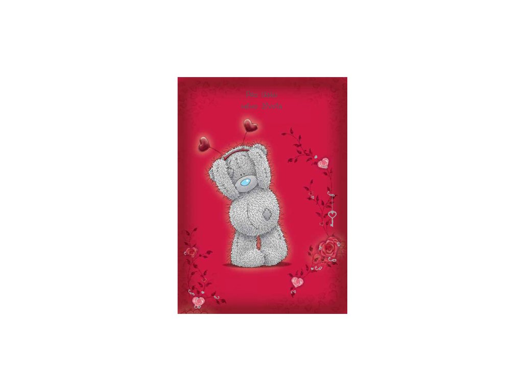 Blahopřání Me to You valentýnské - Pro lásku mého života