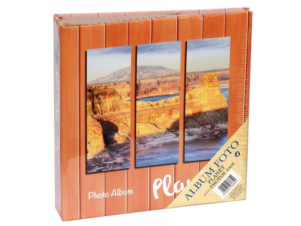 Fotoalbum 11X16/200 PLANET oranžové