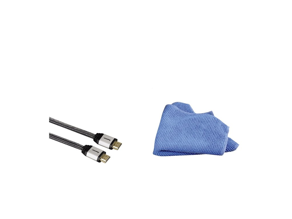 HDMI kabel s utěrkou