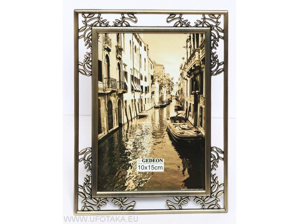 Fotorámeček mosazný 13x18cm - Gedeon BRASS 5066