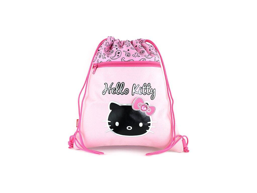 Sportovní vak Hello Kitty, Etno pink
