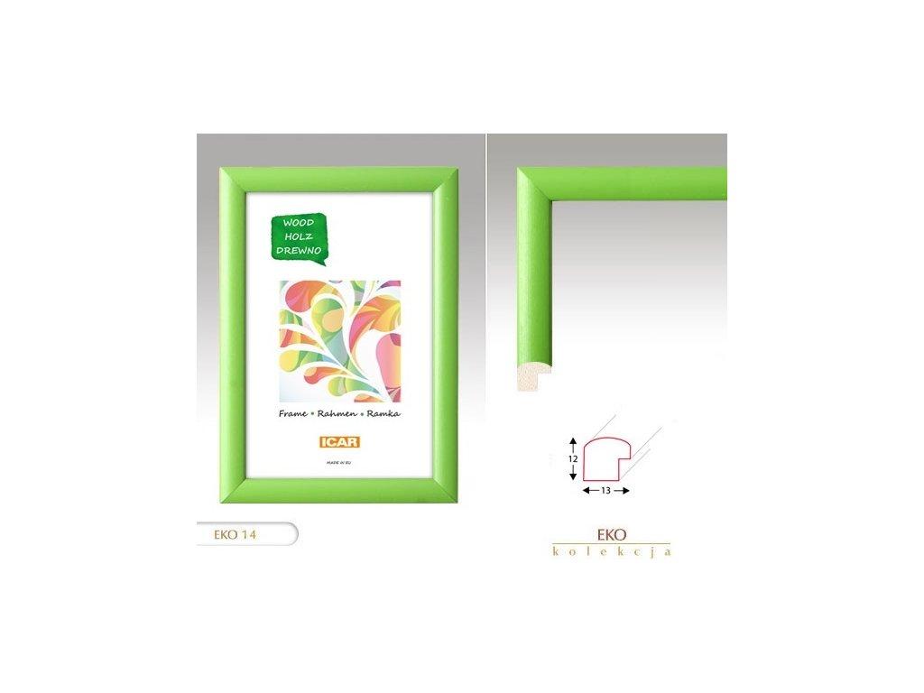 Fotorámeček dřevěný  DRW H 20x30 - 14 zelený