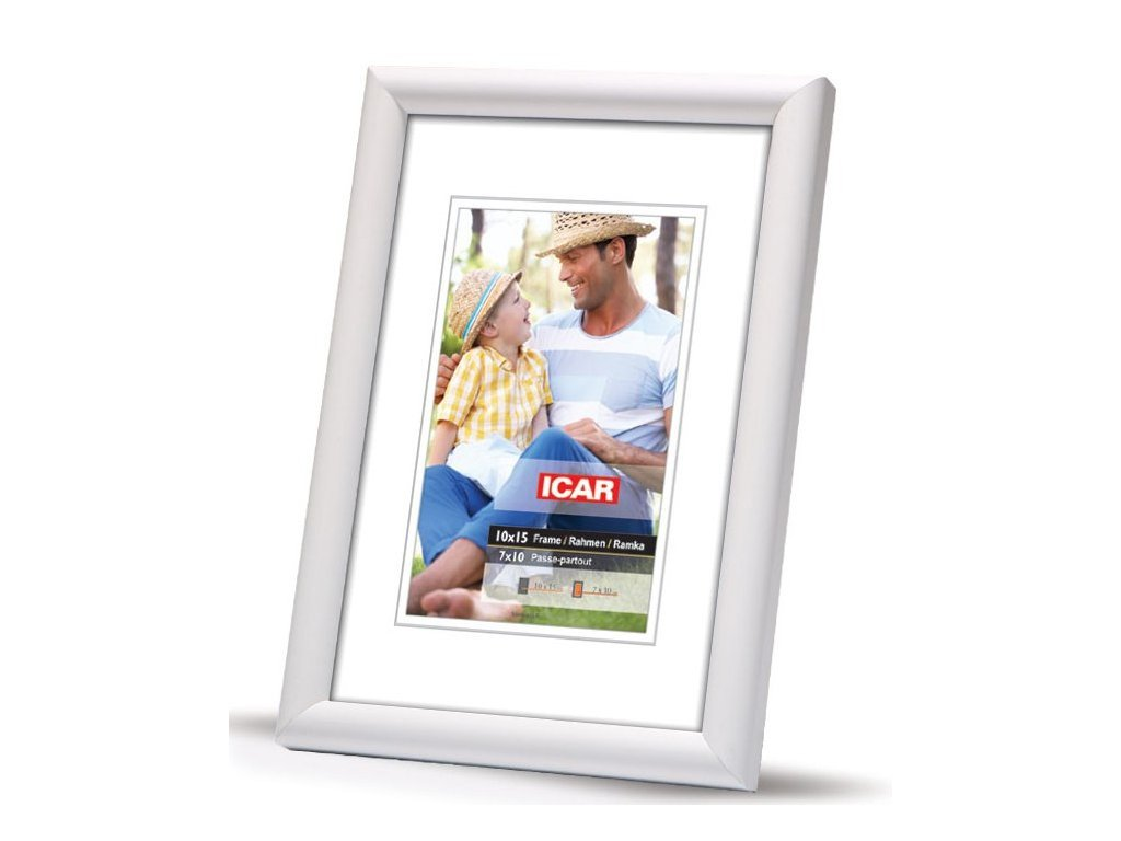 Fotorámeček dřevěný DRW H 20x30 - H 01 bílý