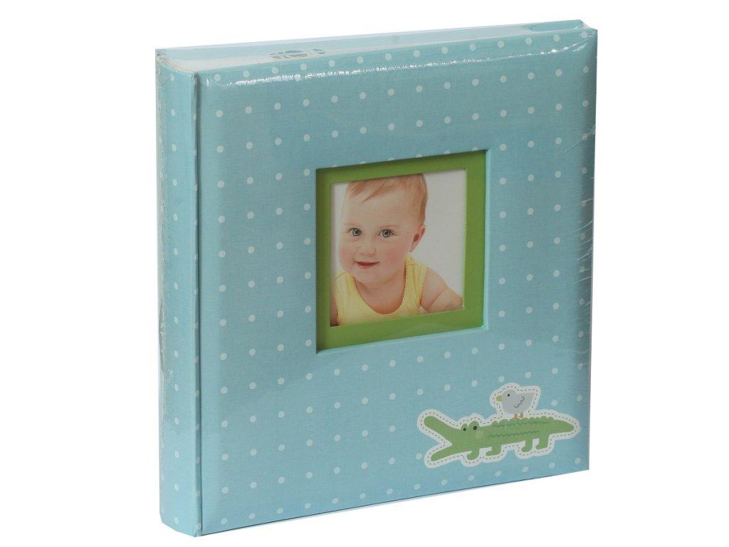 Fotoalbum 10x15/200 - modrý krokodýl
