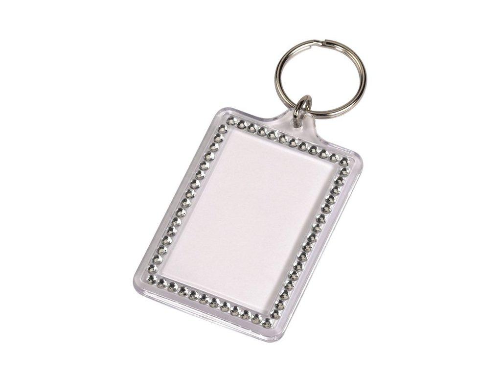 Přívěšek na klíče Fashion, stříbrný Hama