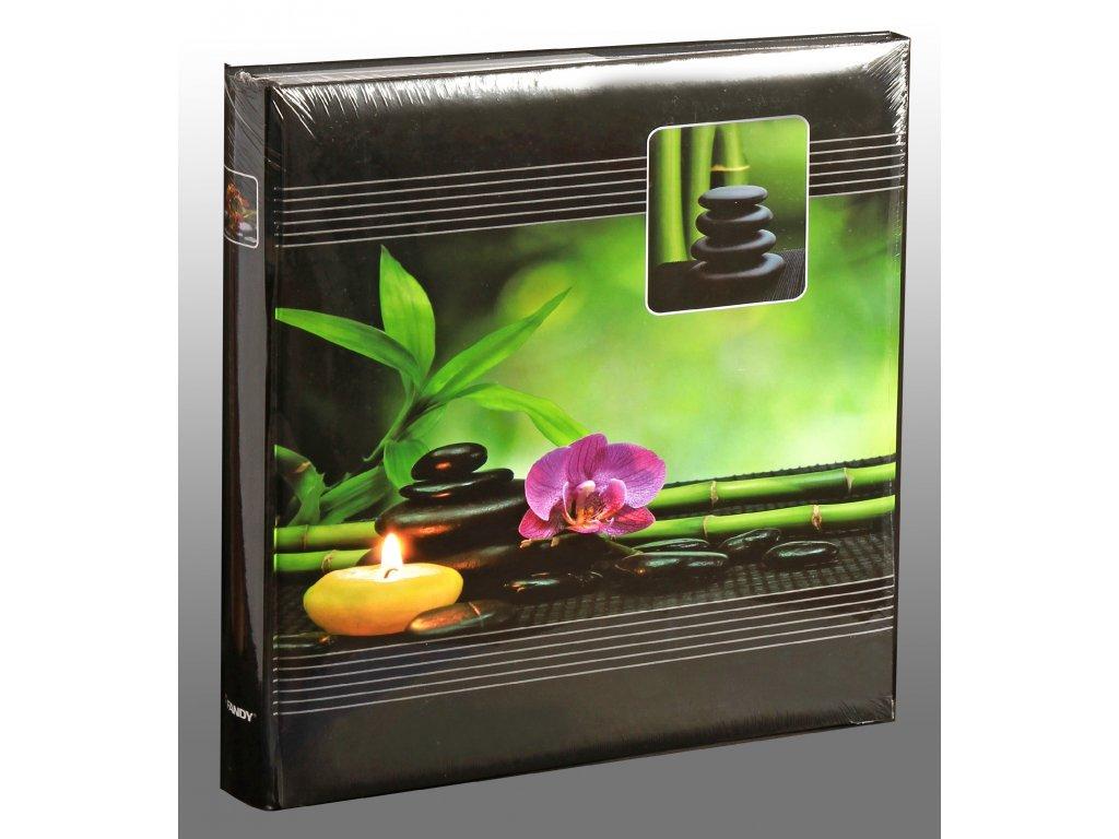 Fotoalbum 10x15/500 Wellness zelený