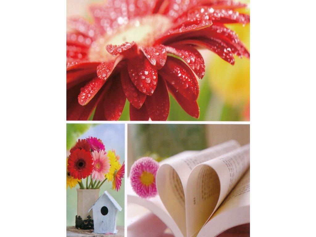 Fotoalbum 13x18/36 květiny 3
