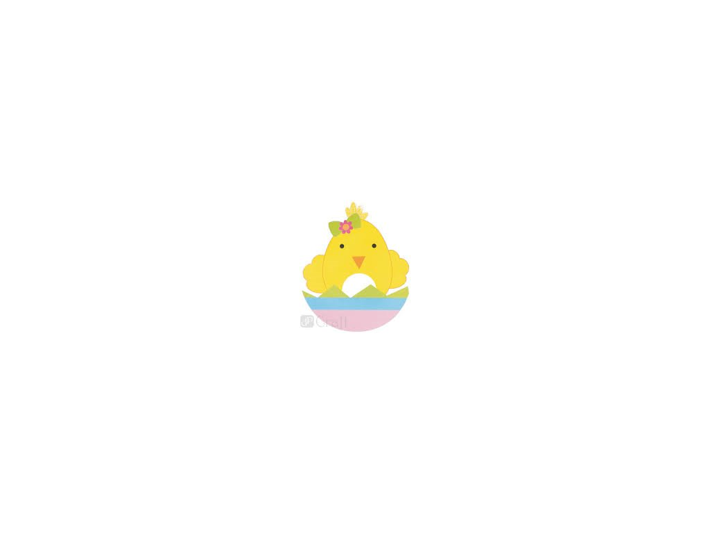 Velikonoční sada kuře 218