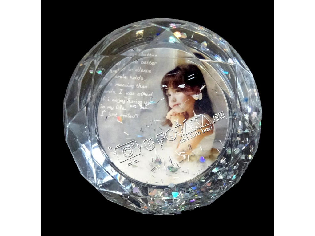 Těžítko foto diamant