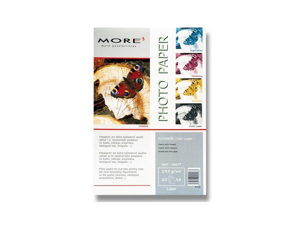 Fotopapír laserový jednostranný 195g/m2 A4 10580