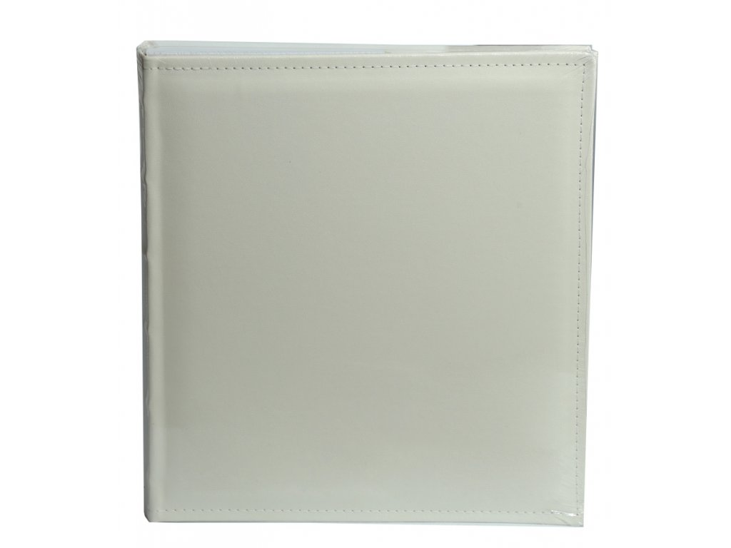 Svatební fotoalbum na růžky 60 stran - WHITE