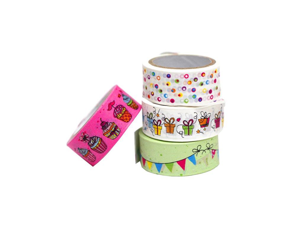 Lepící páska dekorační OSLAVA