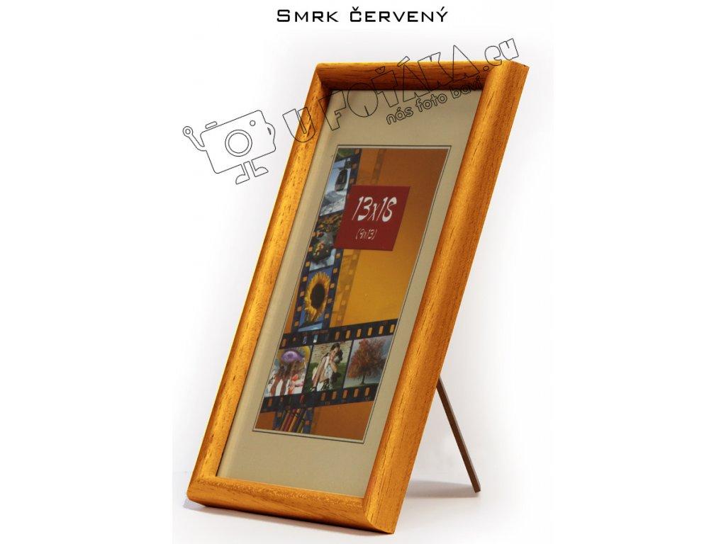 Fotorámeček 15x21 dřevěný CODEX zaoblený - různé barvy