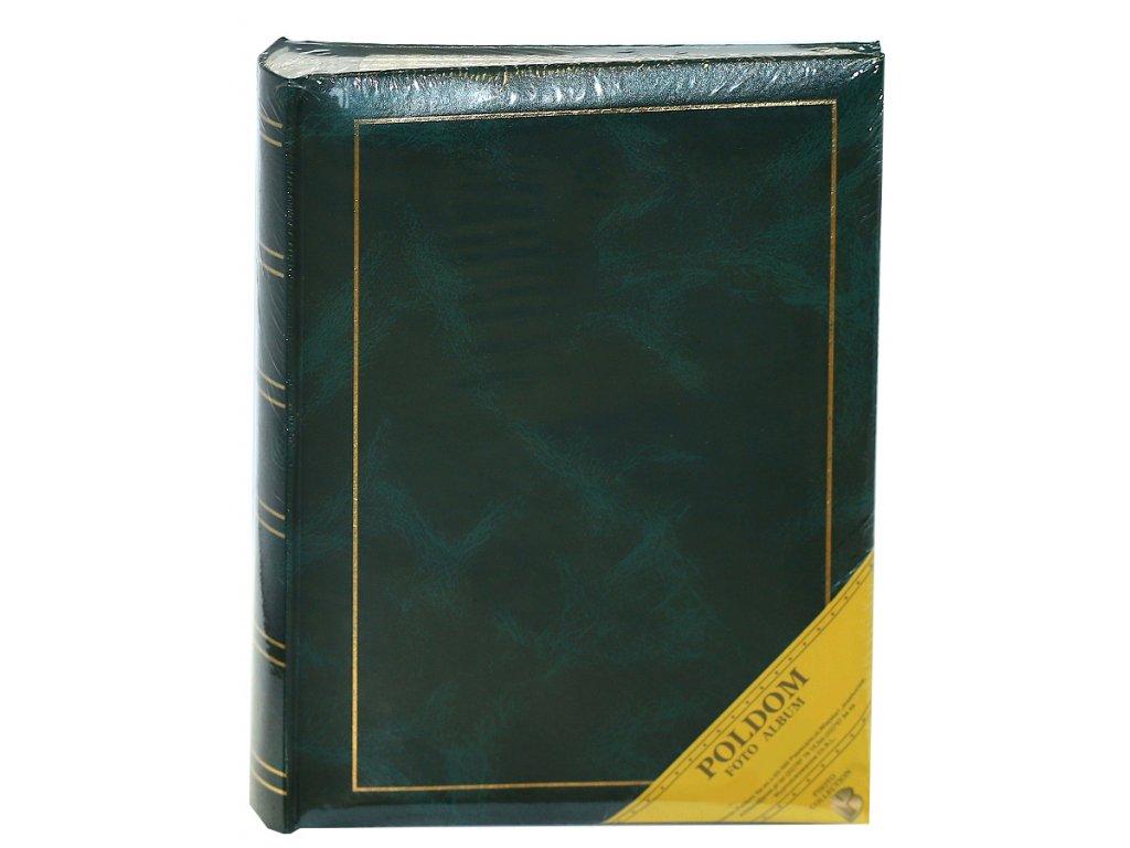 Fotoalbum 13x18/200 - classic s popisem zelený