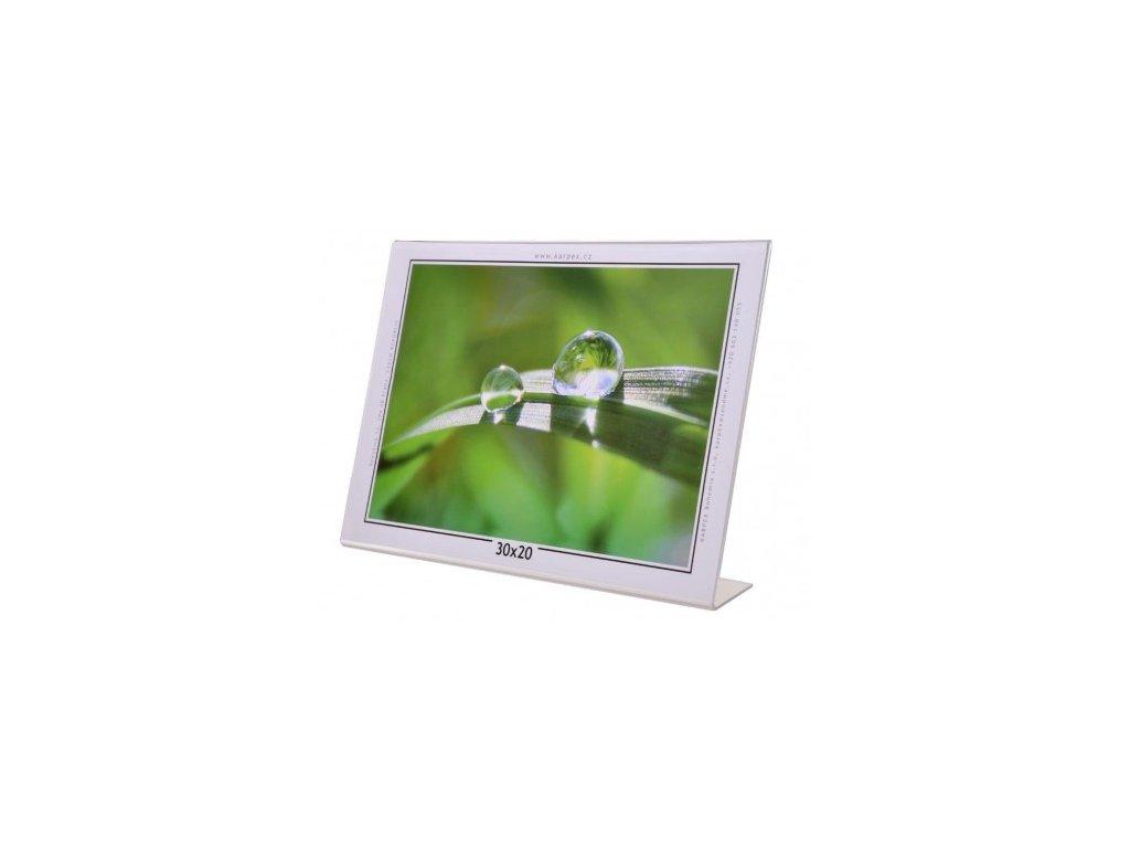 Akrylový fotorámeček KARPEX 30x20cm šířka