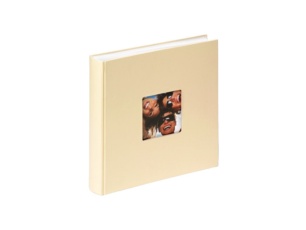 Fotoalbum na růžky 100 stran - WALTHER FUN krémové