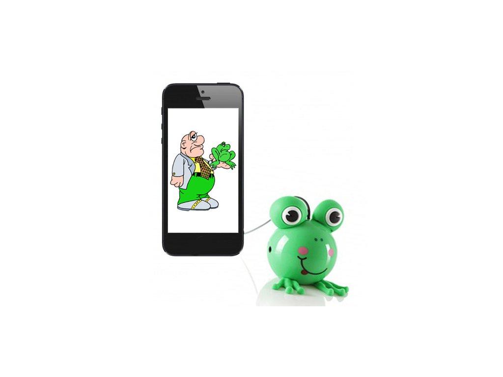 Reproduktor pro mobil Buddy Frog