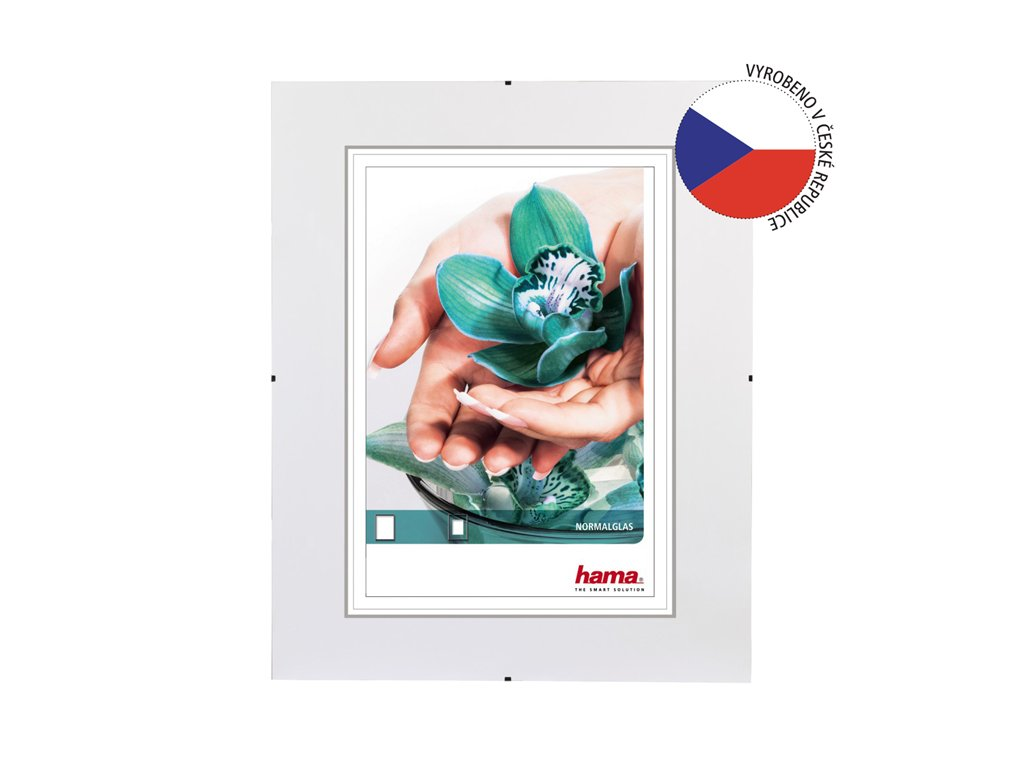 Euroklip / Clip rám 20x25 cm sklo