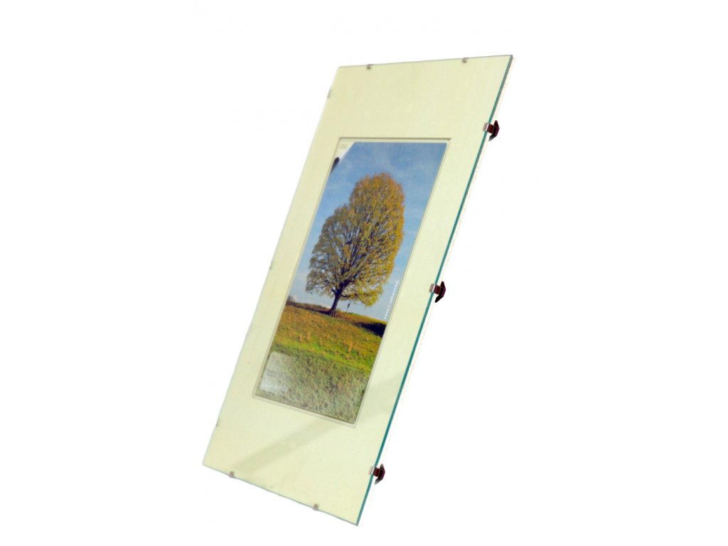 Euroklip / Clip rám 50x60 cm sklo BFHM