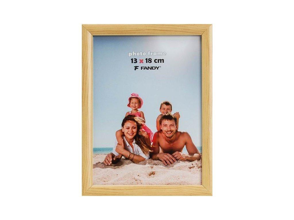 Fotorámeček 13x18 NOTTE 02 plast přírodní