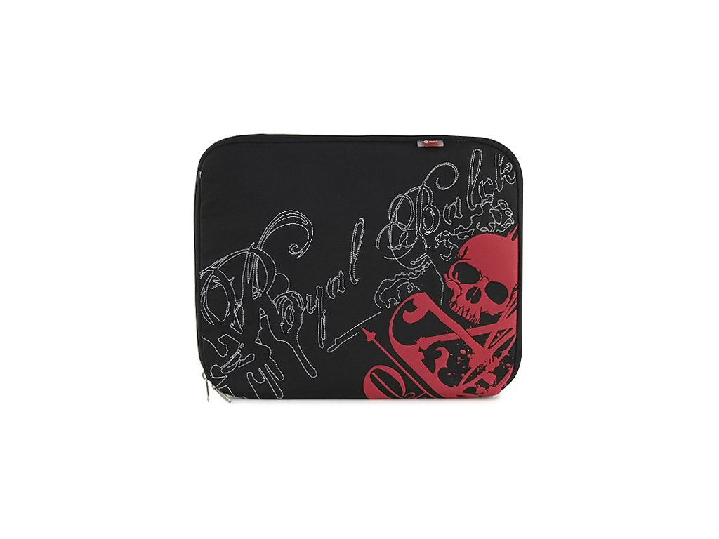 Pouzdro na Notebook 15,4 Target červená lebka