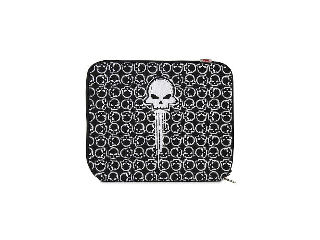 Pouzdro na Notebook 15,4 stříbrná lebka Target Generic